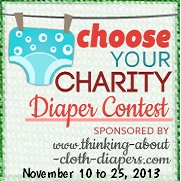 choose your charity cloth diaper charity event