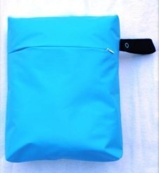 pattern for wet bag with boxy corners