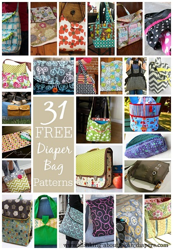 picture regarding Handbag Patterns Free Printable named 31 Cost-free Diaper Bag Behavior Tutorials