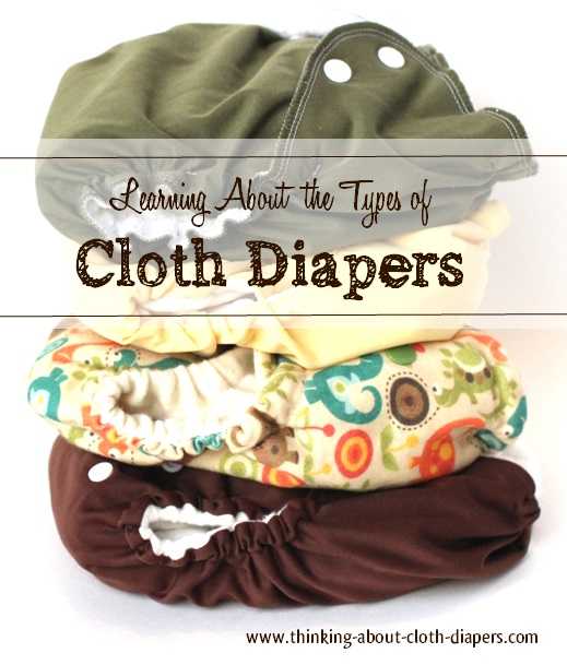cloth baby diapers - intro to cloth diaper types