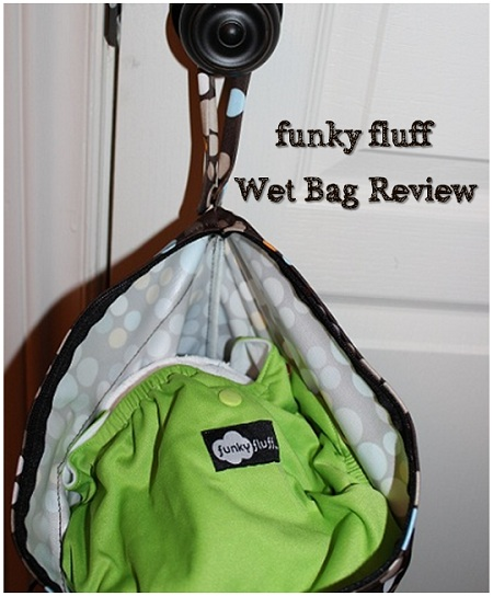 funky fluff wet bag
