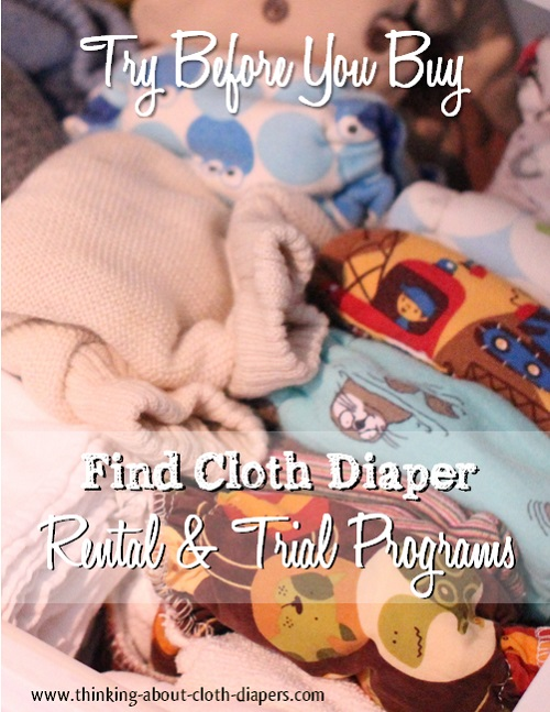 try cloth diapers