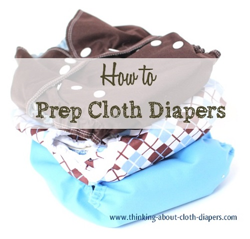 how to prep new cloth diapers