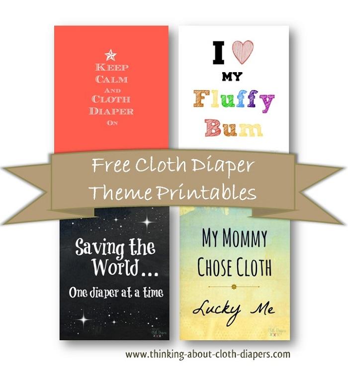 free cloth diaper printables