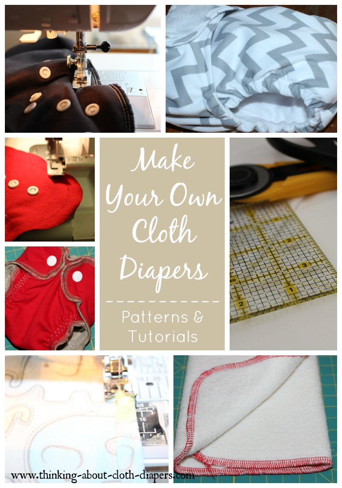 making cloth diapers