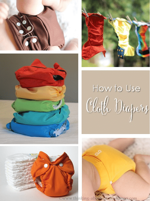 How to use cloth diapers