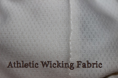athletic wicking material for cloth diaper inserts