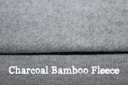 charcoal bamboo fleece for cloth diapers