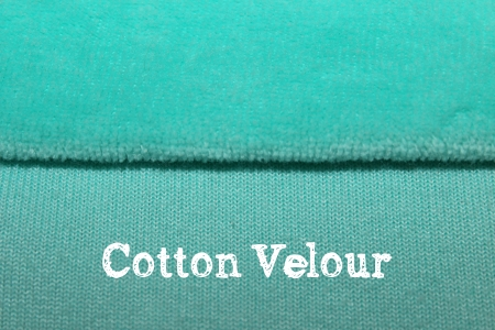 cotton velour for cloth diapers