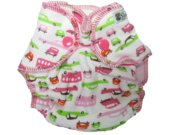 BubuBebe Newborn Fitted Cloth Baby Diaper