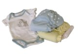 diaper shirt and cloth diapers