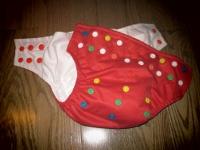 cheap Glowbug one-size cloth diaper
