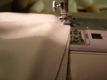 making a lined zippered wet bag