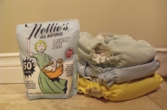 Nellies laundry detergent for cloth diapers