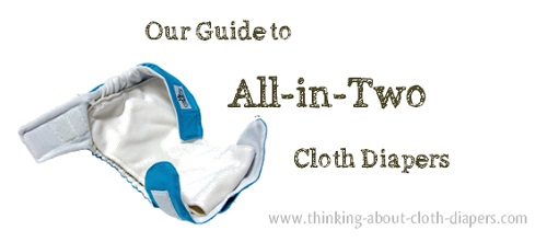 all-in-two cloth diapers; ai2