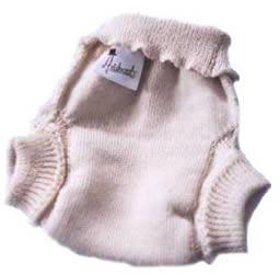 Aristocrats wool diaper soaker cover