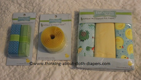 cloth diaper fabric from babyville boutique