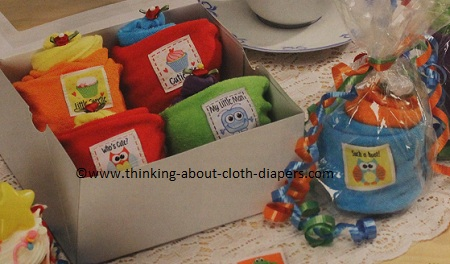 Babyville boutique essentials made easy book - washcloth cupcakes