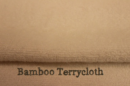 bamboo terrycloth for cloth diaper inserts