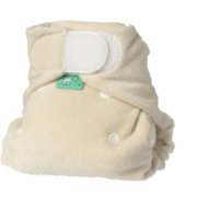 Bamboozle newborn fitted cloth diaper