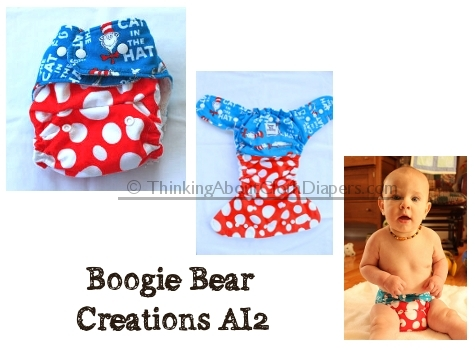Boogie Bear Creations AI2 Diaper