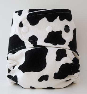 Boogie Bear Creations Custom Cloth Diaper - Cows!