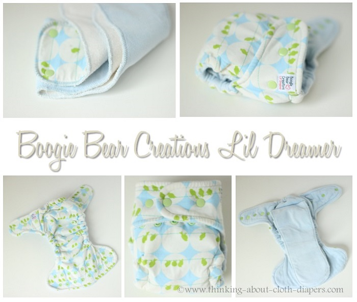 boogie bear creations lil dreamer hybrid fitted size one review