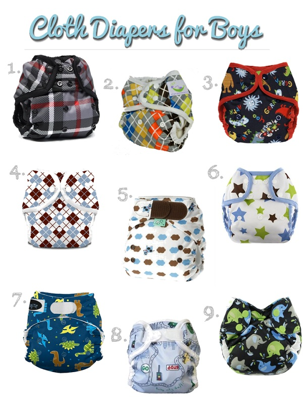 cloth diapers for boys