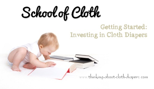 budget cloth diapers - school of cloth
