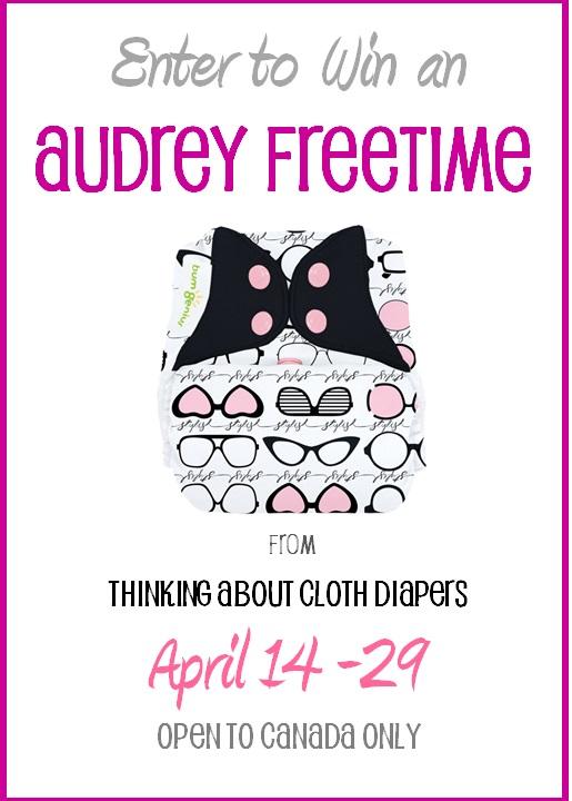 cloth diaper giveaway - audrey bumgenius