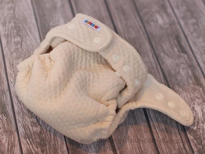 organic cotton overnight diaper | Bummis dimple diaper