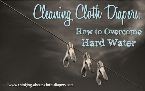 Nettoyage des couches lavables