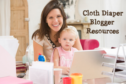 cloth diaper blogger resources from Thinking About Cloth Diapers - mommy blogger