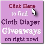 cloth diaper giveaways