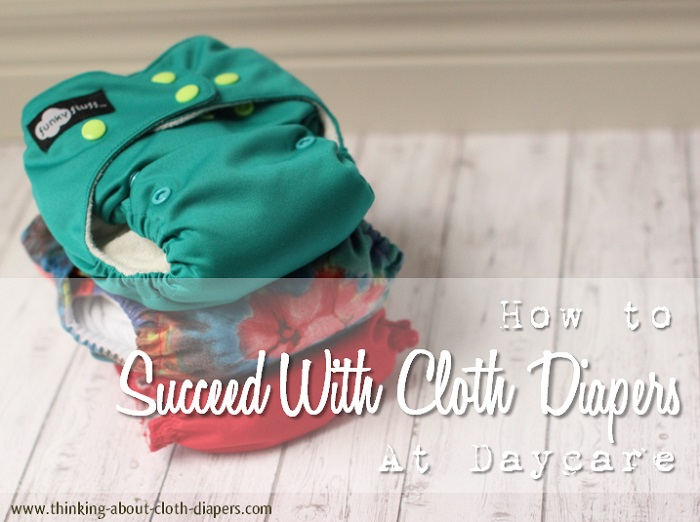 cloth diapers at daycare