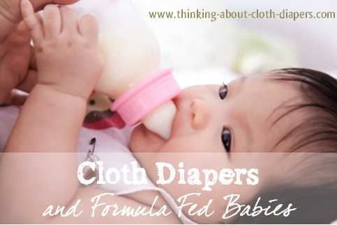 cloth diapers and formula fed babies