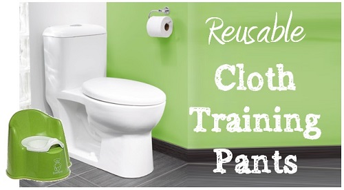 reusable cloth training pants