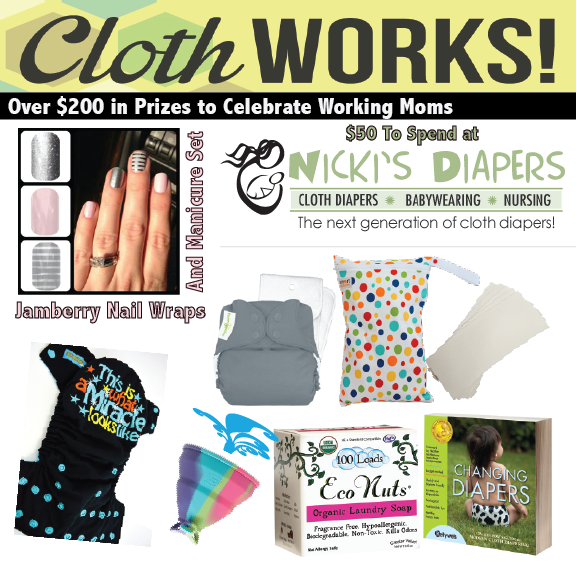 cloth WORKS! giveaway prizes