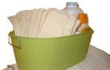 Homemade diaper wipes