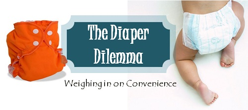 convenience of cloth diapers