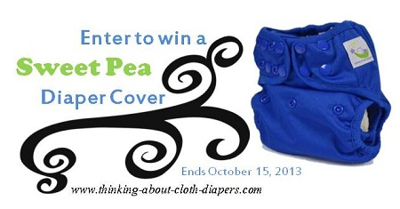win a sweet pea cloth diaper cover