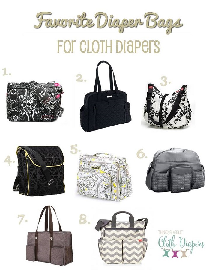 favorite diaper bags for cloth diapers