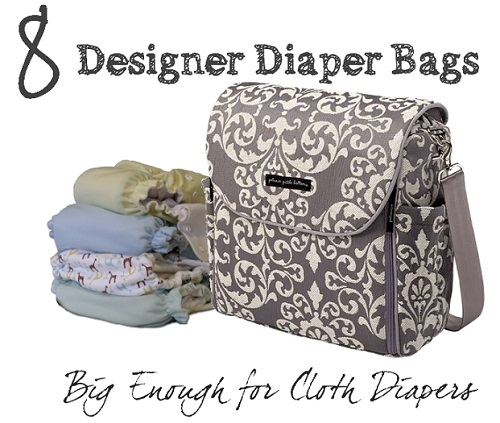 designer diaper bags for cloth diapers