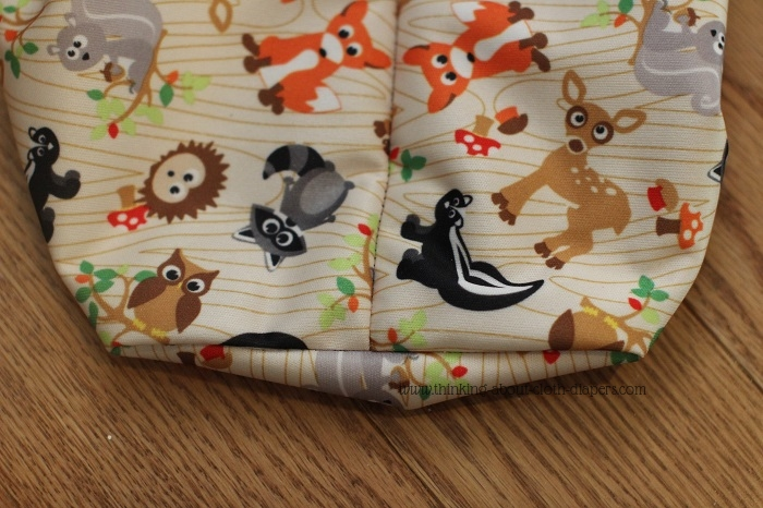 How to sew gussets for diaper pail liner