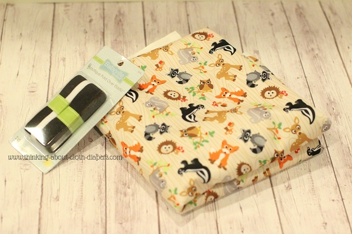 Babyville boutique fabric - Forest Friends