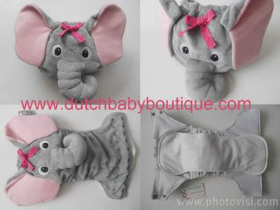 Elephant by Dutch Baby Boutique