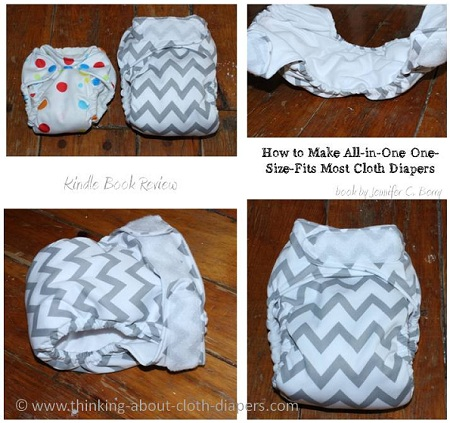 how to sew an AIO diaper ebook