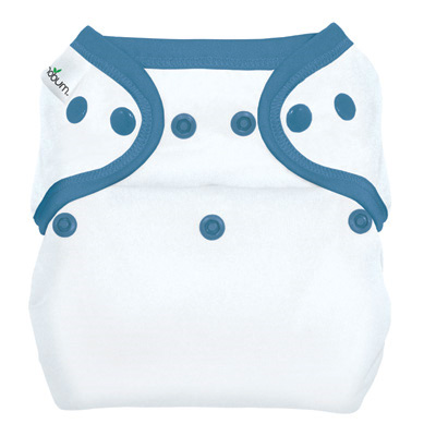 econobum one-size cloth diaper cover with snaps from bumgenius