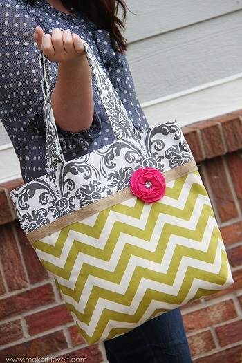 free tote sewing pattern