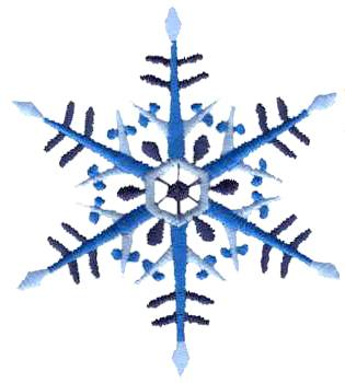SoftBums Customers Choice holiday 2014 embroidery - snowflake